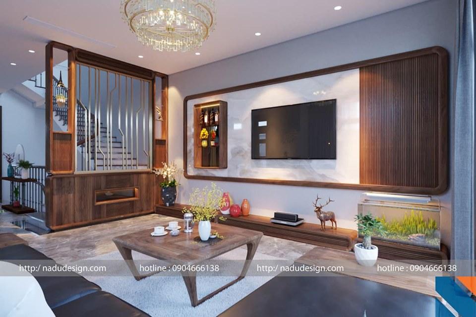 Nội thất nhà đẹp với vật liệu gỗ tự nhiên