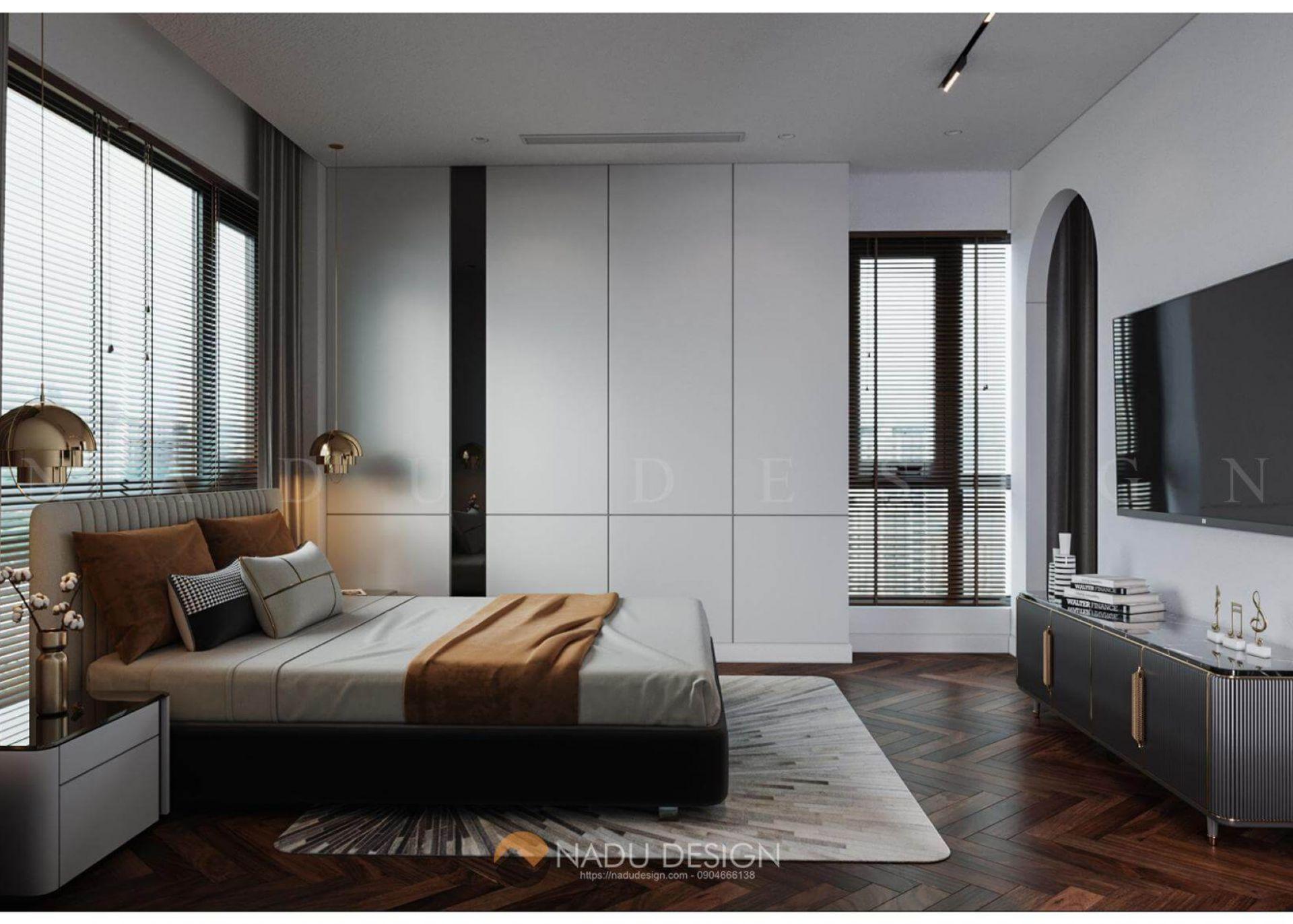 phòng ngủ 40m2