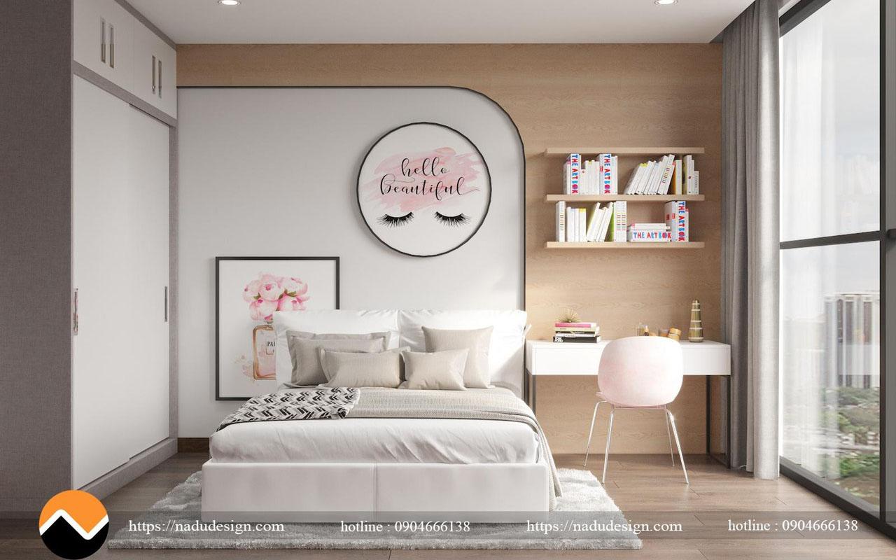 mẫu phòng ngủ cho bé gái