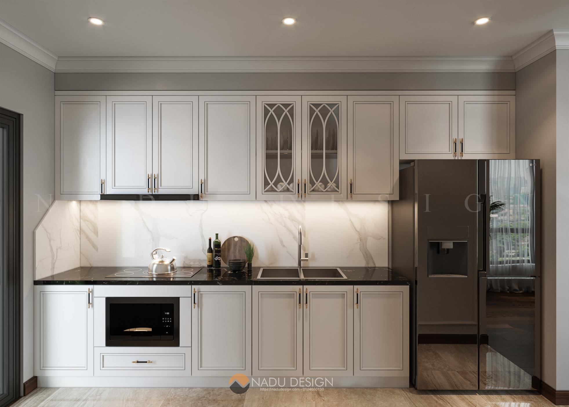thiết kế nội thất phòng bếp nhà phố 5