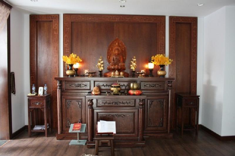 bàn thờ phật