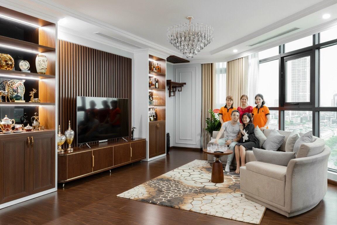 NaDu Design cung cấp gói dịch vụ thi công hoàn thiện nội thất