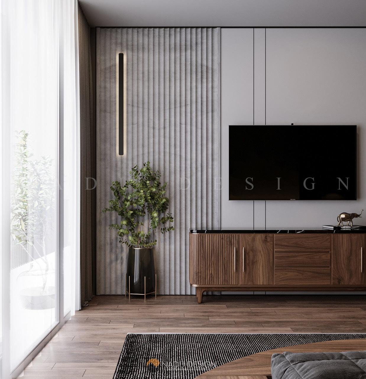Thiết kế nội thất phòng ngủ 30m vuông sang trọng, đẹp