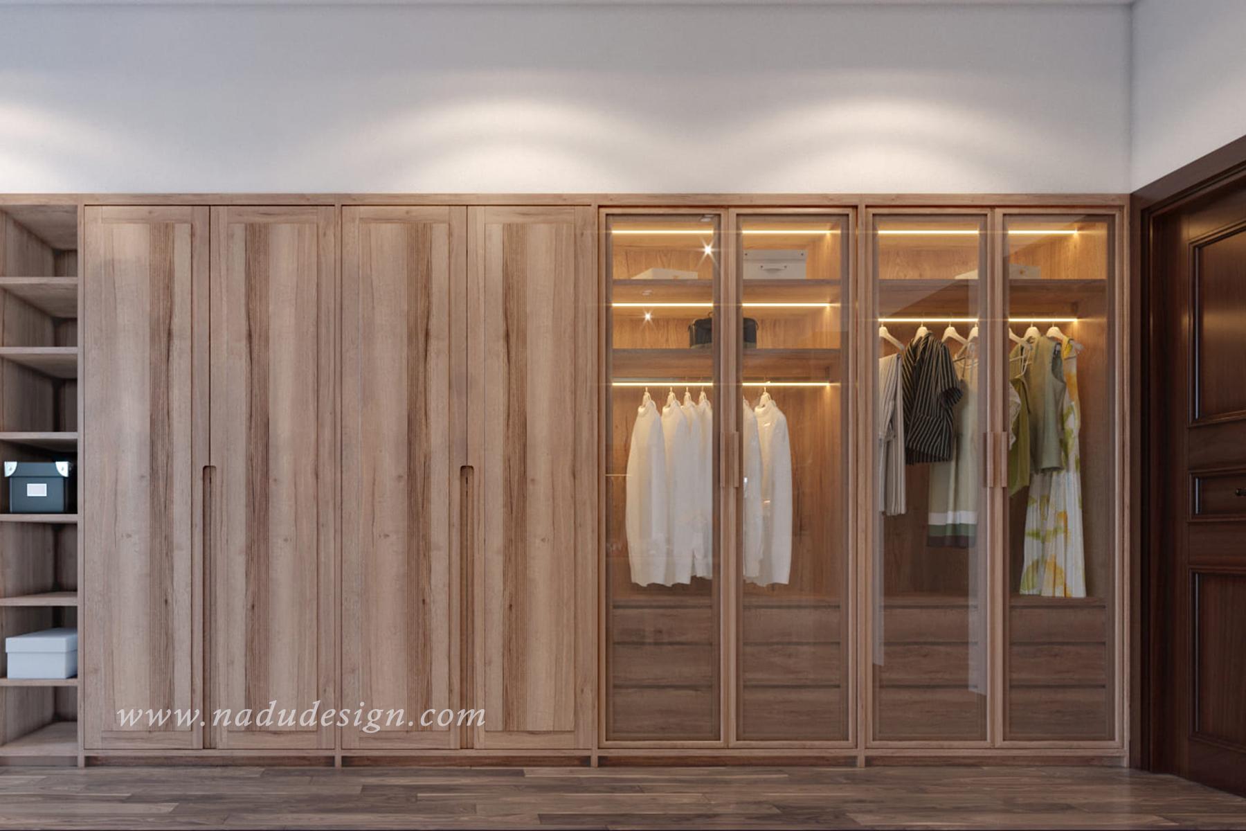 Thiết kế nội thất phòng ngủ 20m vuông đẹp đơn giản mà sang trọng