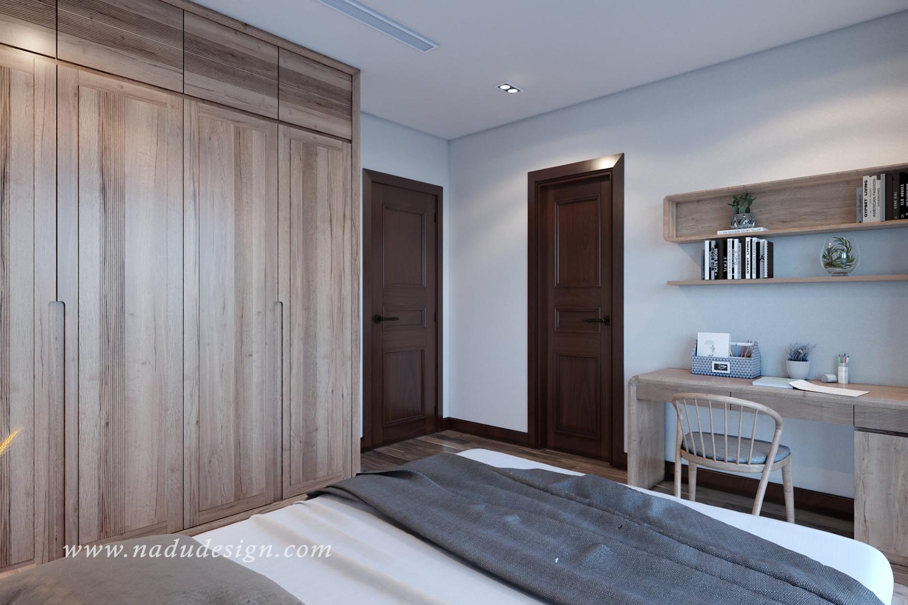 phòng ngủ 30m2