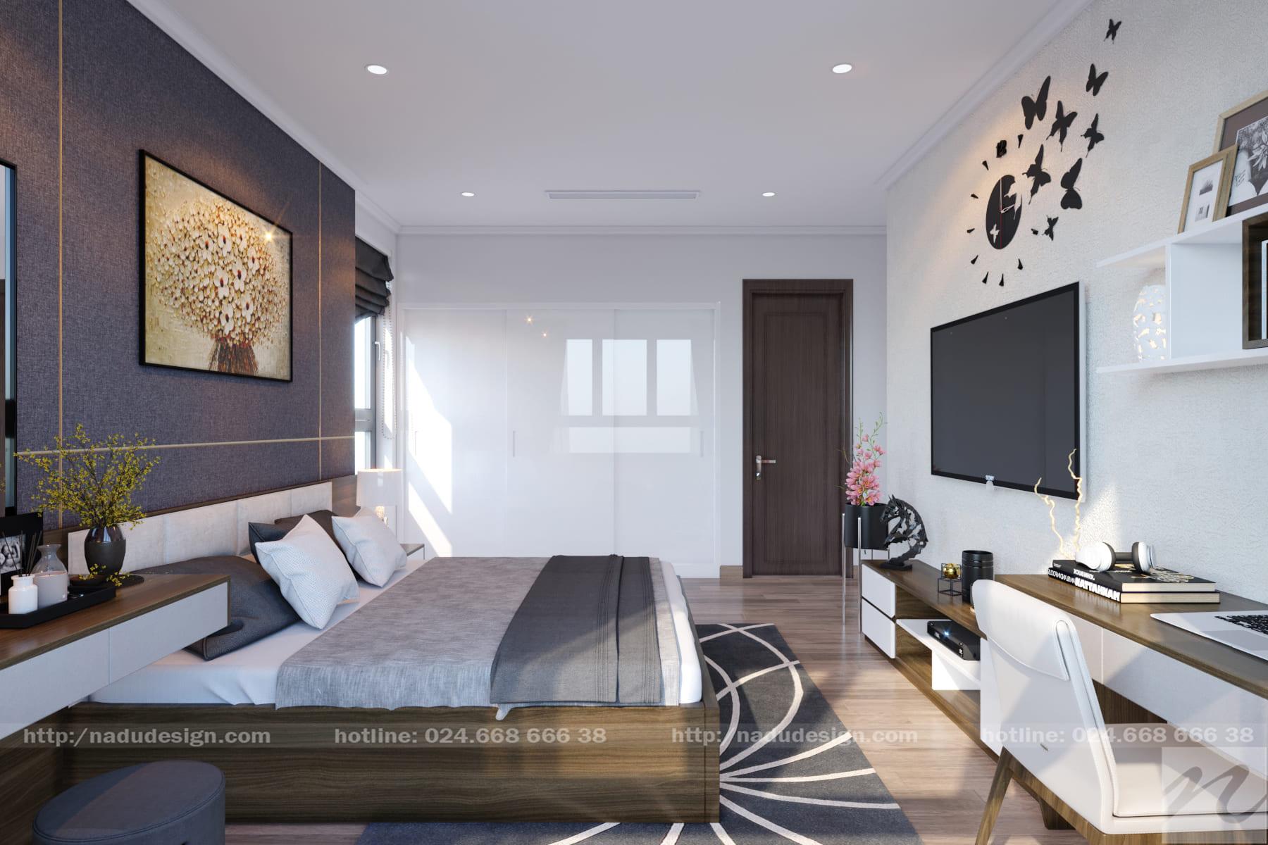 mẫu phòng ngủ 40m2
