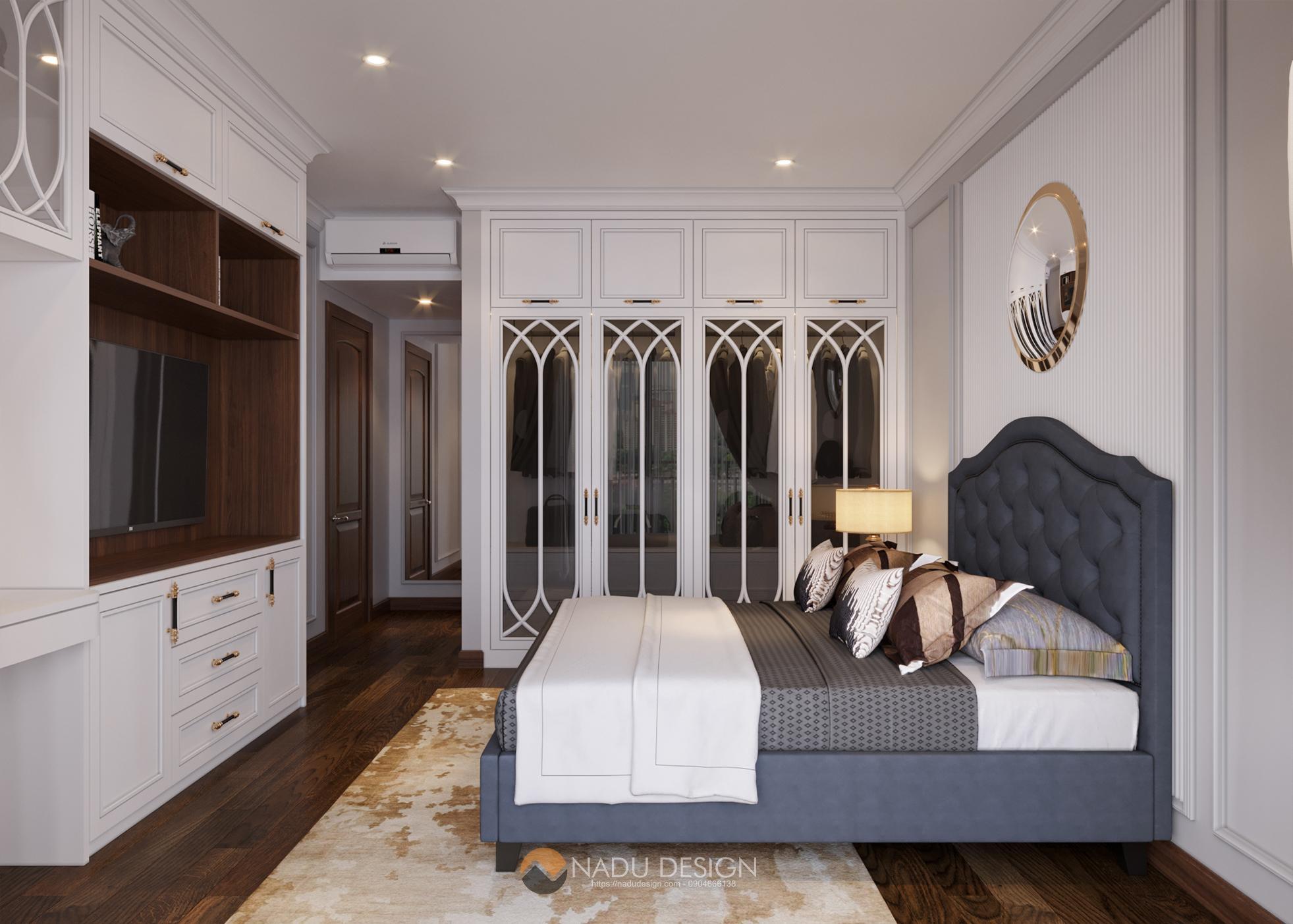 thiết kế phòng ngủ 40m2