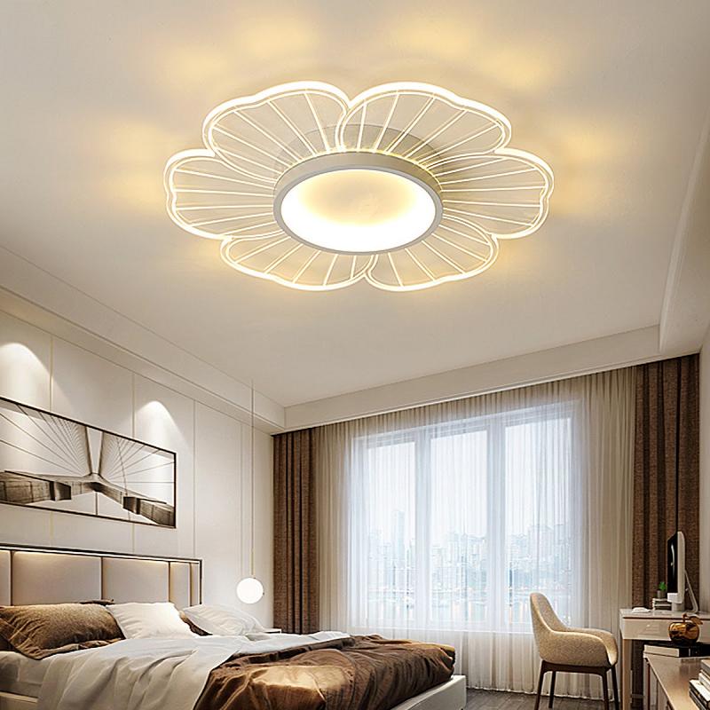 đèn led trogn phòng ngủ