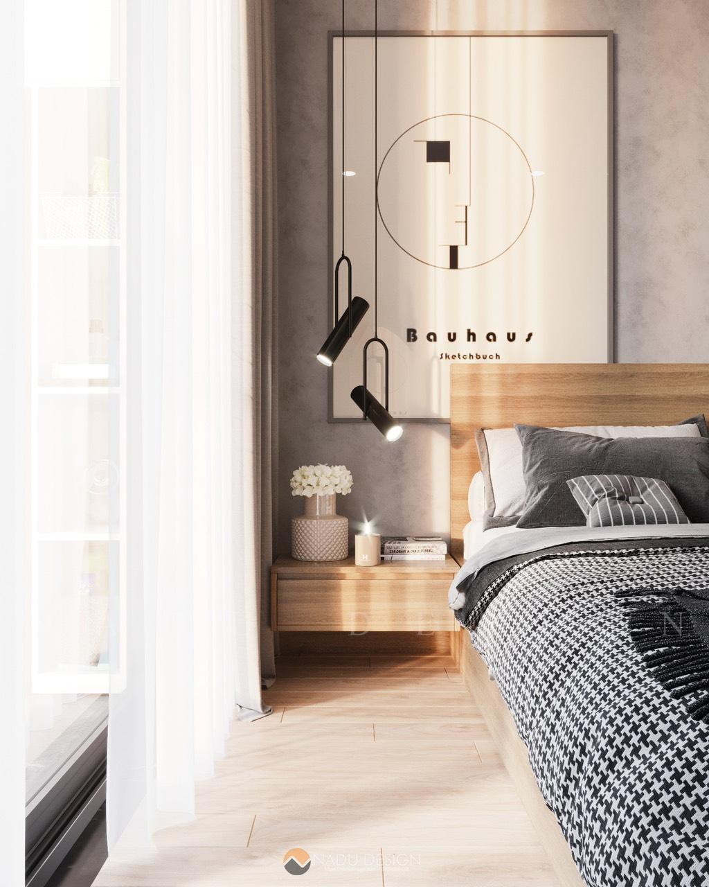 mẫu đèn trang trí phòng ngủ