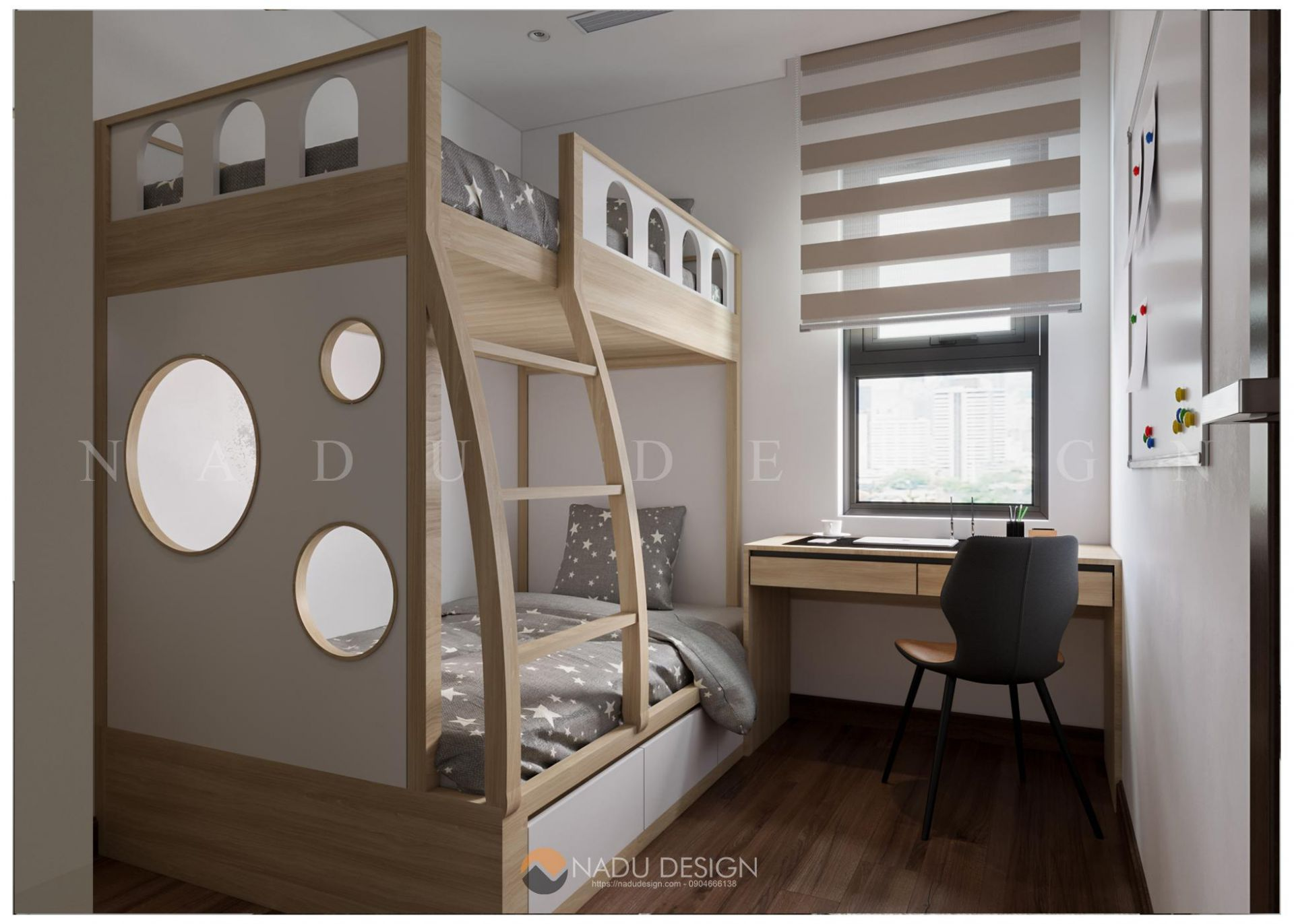 phòng ngủ nhỏ cho con
