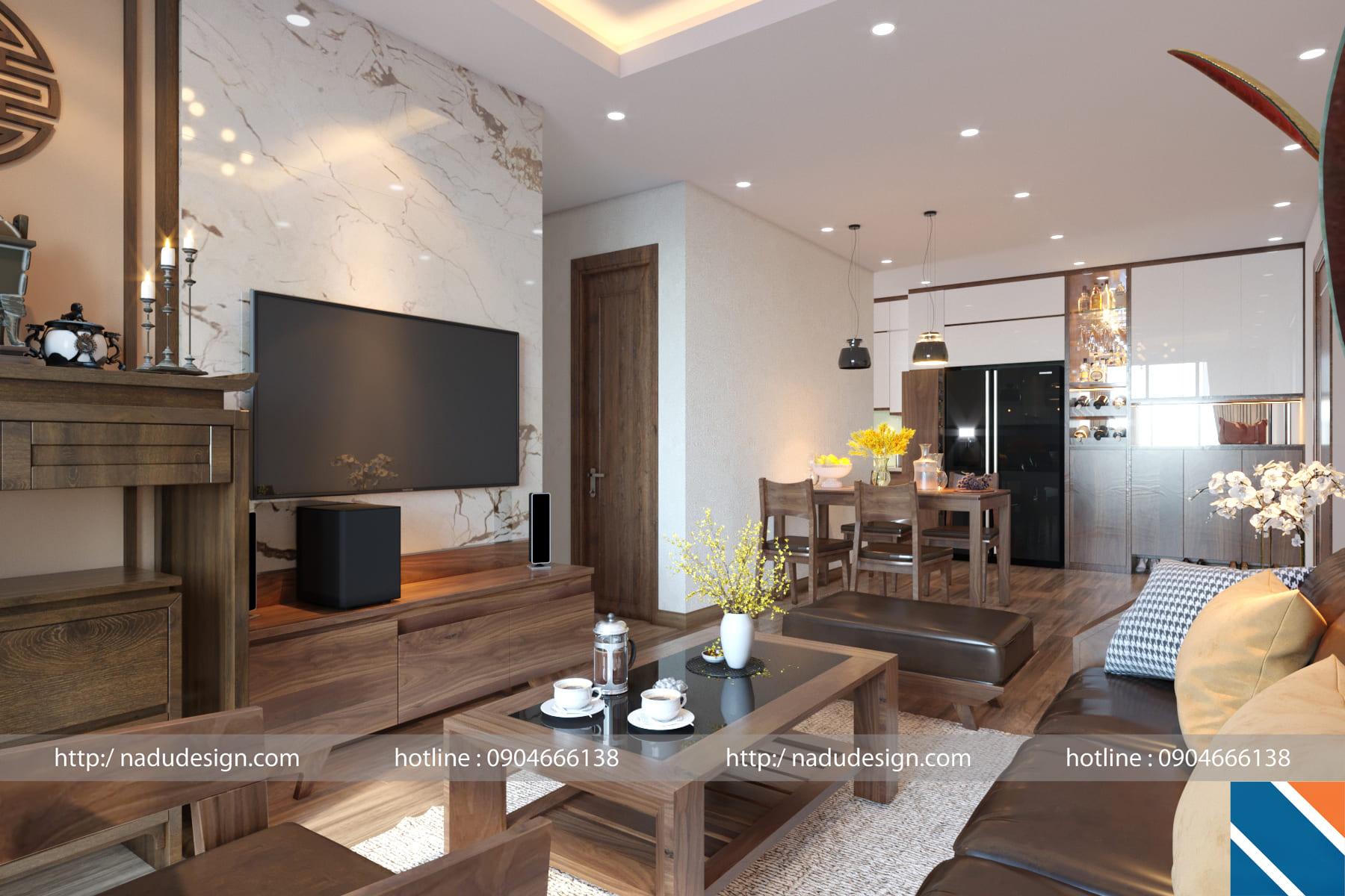 NADU - đơn vị thiết kế thi công nội thất cao cấp tại Hà Nội