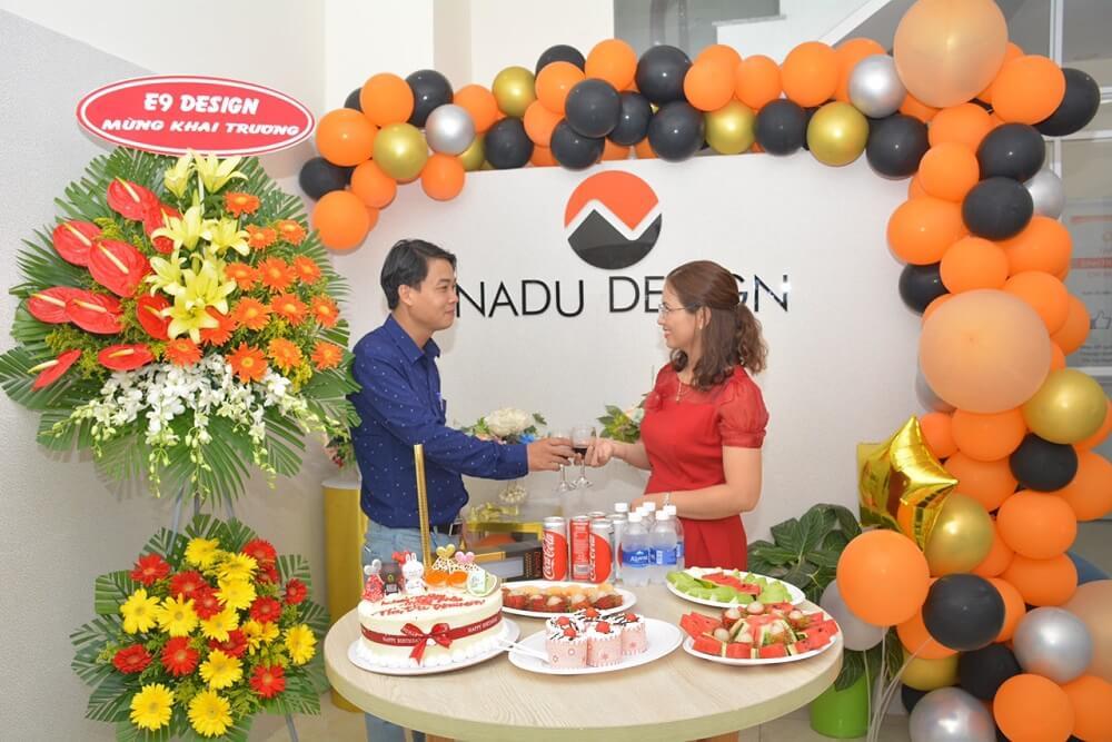 Khách hàng, đối tác mừng khai trương NaDu