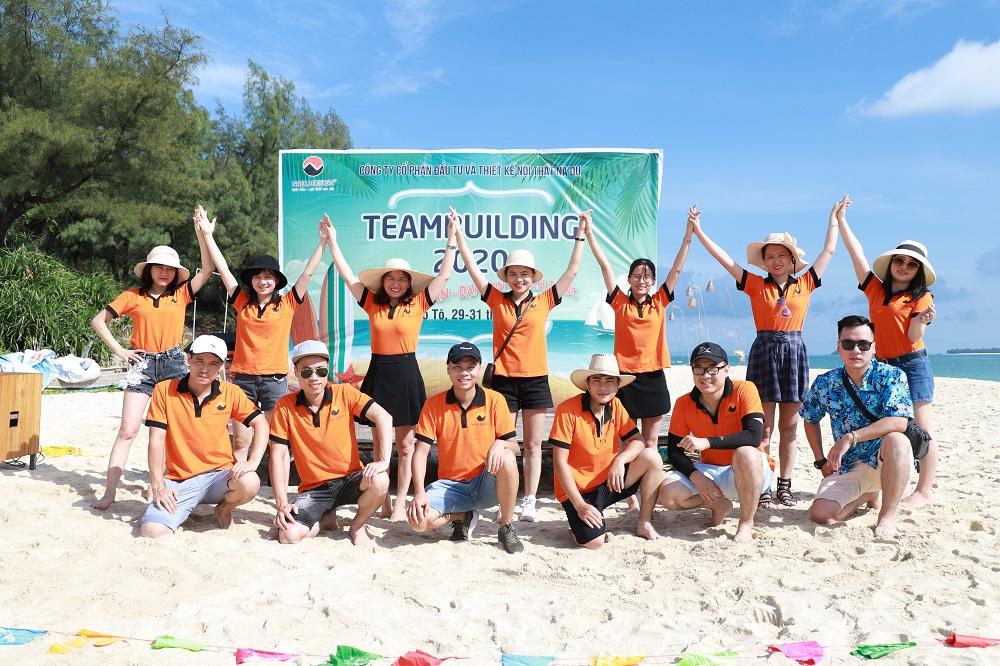 Chụp ảnh tập thể team NaDu