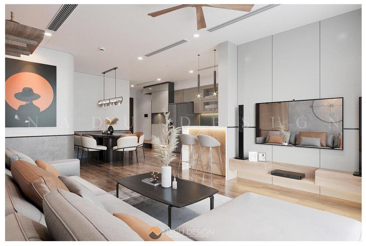 NaDu - chuyên thiết kế, thi công nội thất chung cư trọn gói