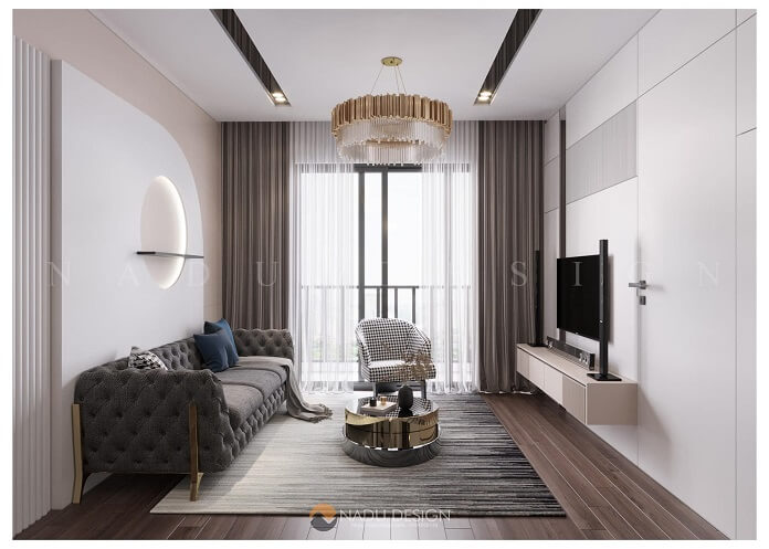 Đơn vị thiết kế nội thất chung cư 90m2