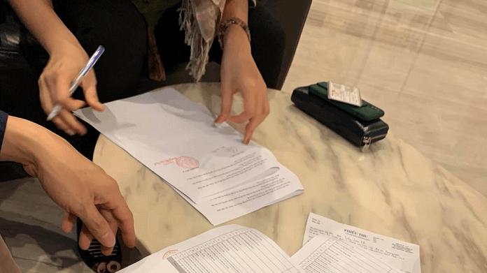 Ký hợp đồng thi công nội thất chung cư trọn gói Hà Nội