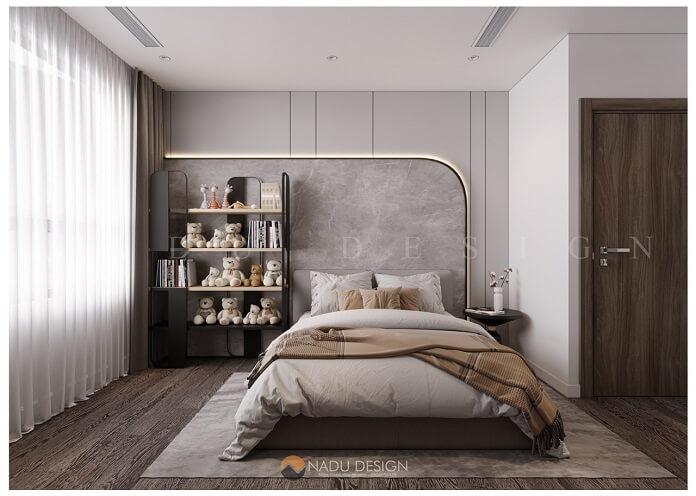 Thiết kế nội thất phòng ngủ nhỏ chung cư 100m2