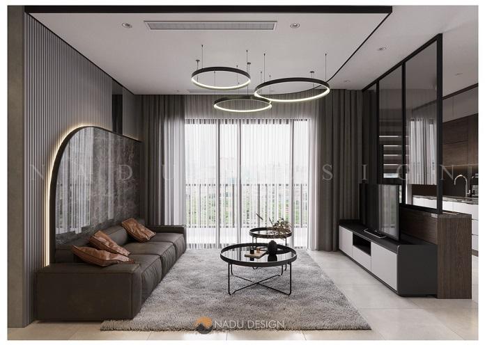 Mẫu thiết kế nội thất chung cư 100m2