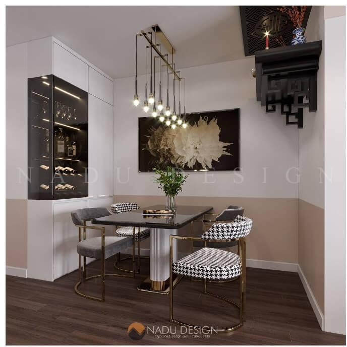 Mẫu thiết kế nội thất chung cư 90m2 mới nhất