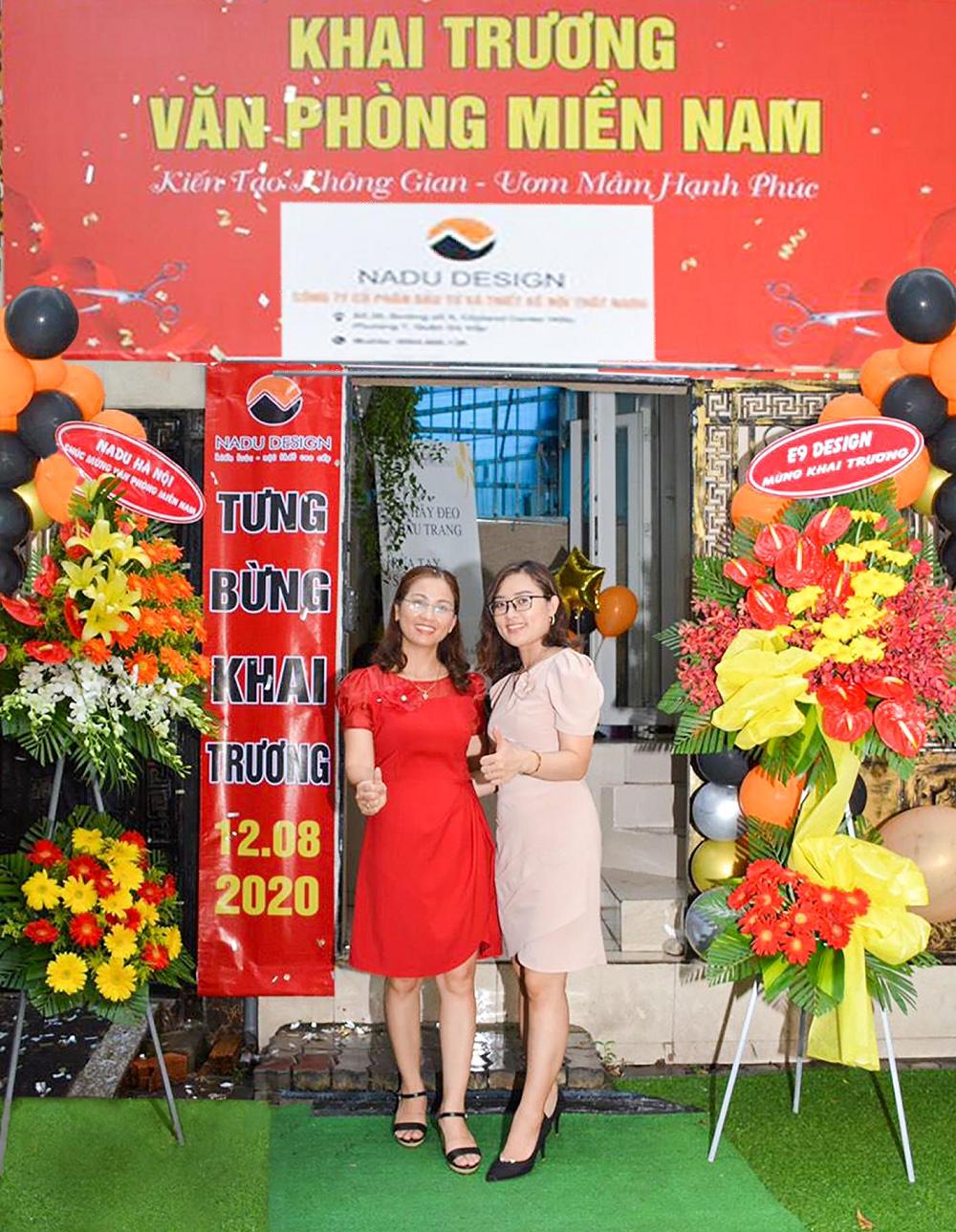 NaDu Design khai trương văn phòng Hồ Chí Minh