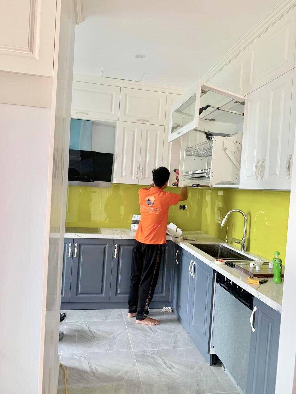 Thi công nội thất phòng bếp