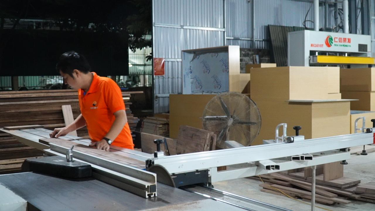 Thi công nội thất tại Xưởng sản xuất NaDu