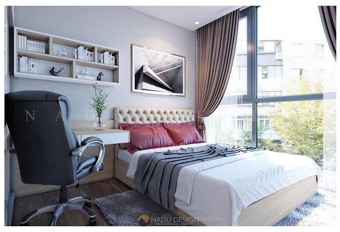 Thiết kế căn hộ 70m3 3 phòng ngủ