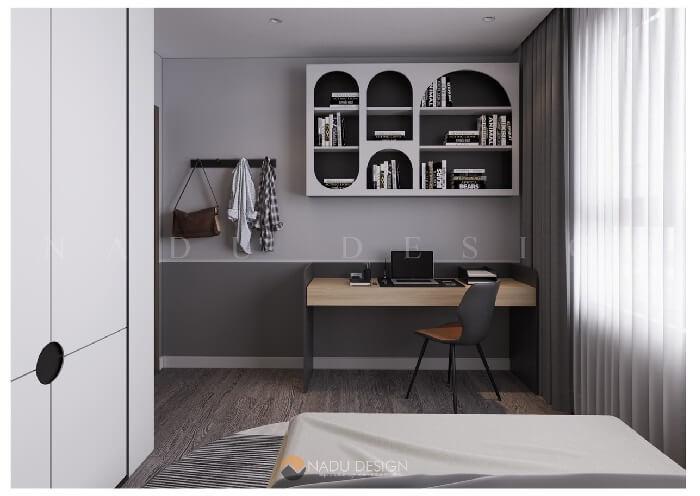 Thiết kế căn hộ đẹp tiện nghi