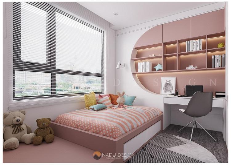 Thiết kế chung cư đẹp 100m2 3 phòng ngủ đẹp