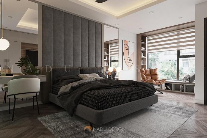 Thiết kế nội thất căn hộ 100m2 3 phòng ngủ