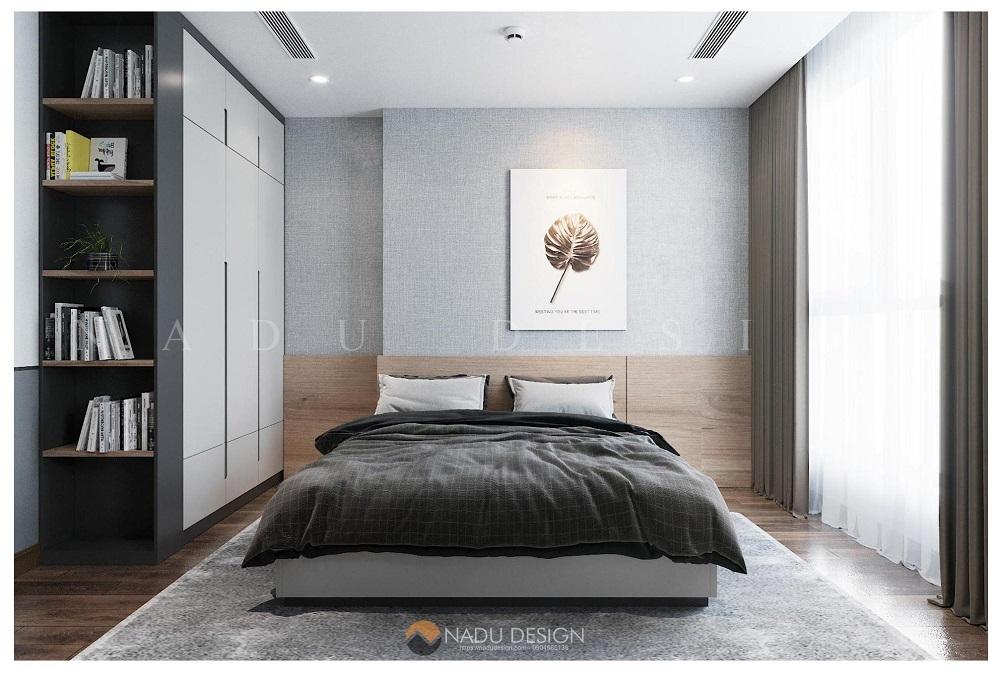 Thiết kế nội thất căn hộ 70m2 3 phòng ngủ
