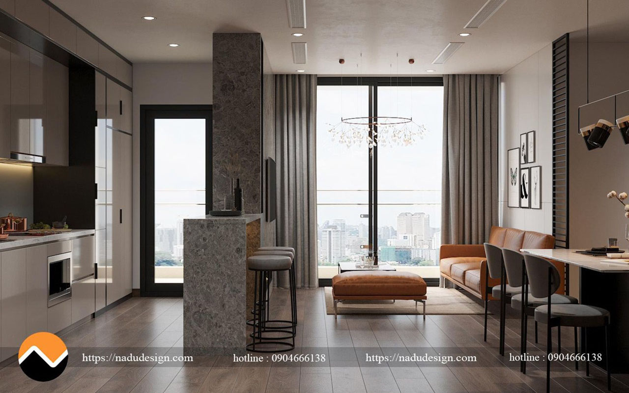 Thiết kế chung cư Vinhome WestPoint