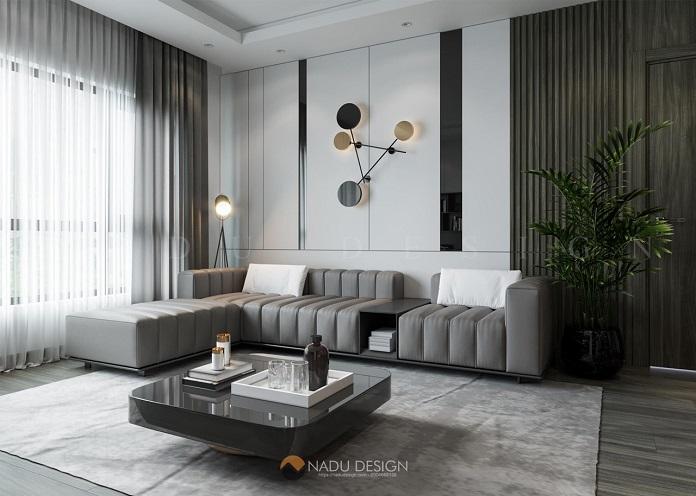 Thiết kế nội thất 3 phòng ngủ phong cách tối giản