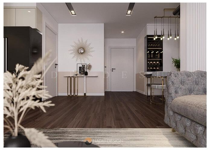 Thiết kế nội thất căn hộ chung cư 90m2 đẹp và hiện đại