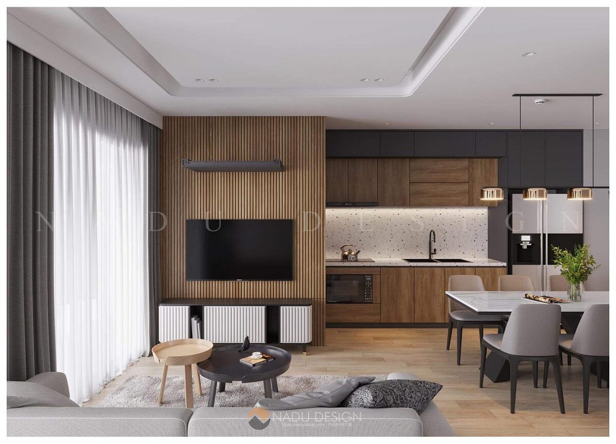 Thiết kế nội thất chung cư mini cho thuê nên sử dụng đồ nội thất thông minh