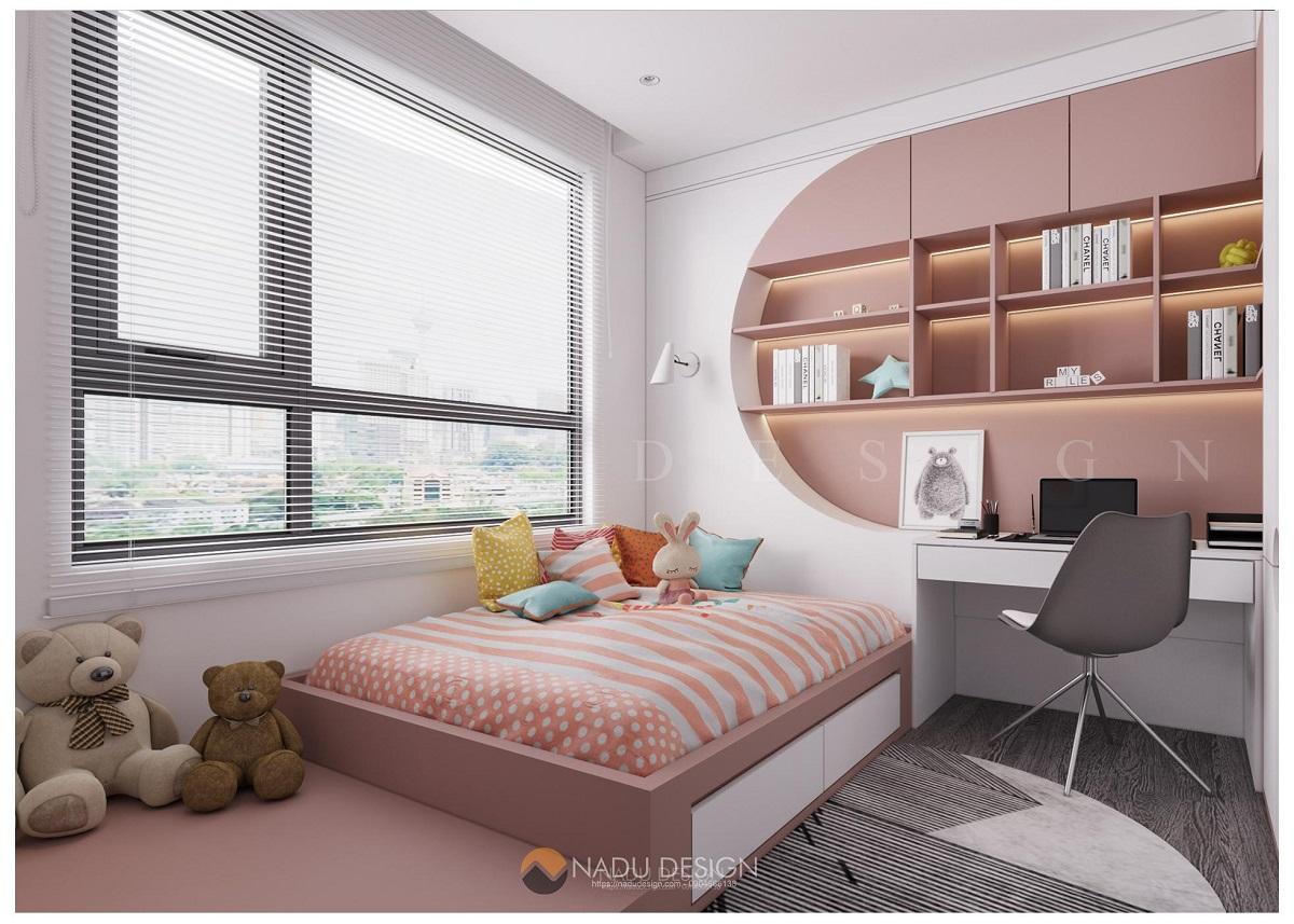 Thiết kế nội thất phòng ngủ chung cư phong cách hiện đạii