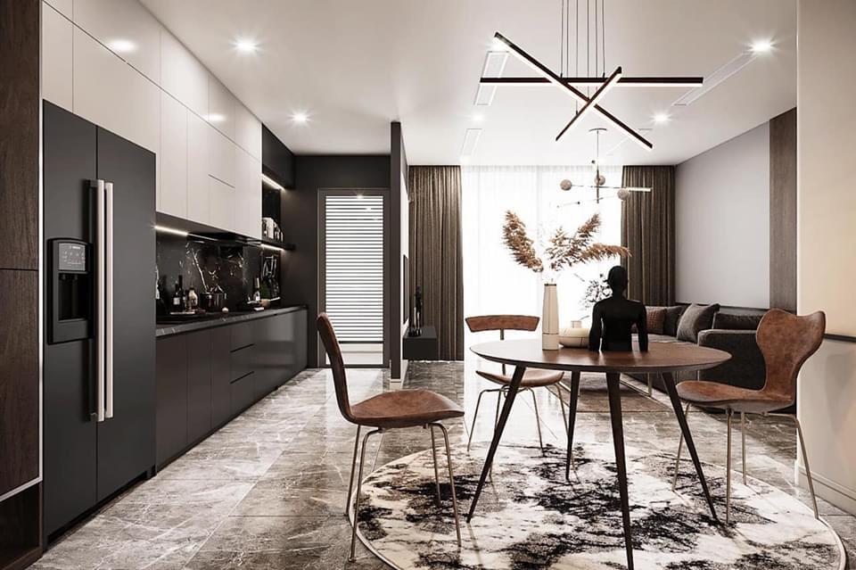Tư vấn thiết kế chung cư theo phong cách hiện đại