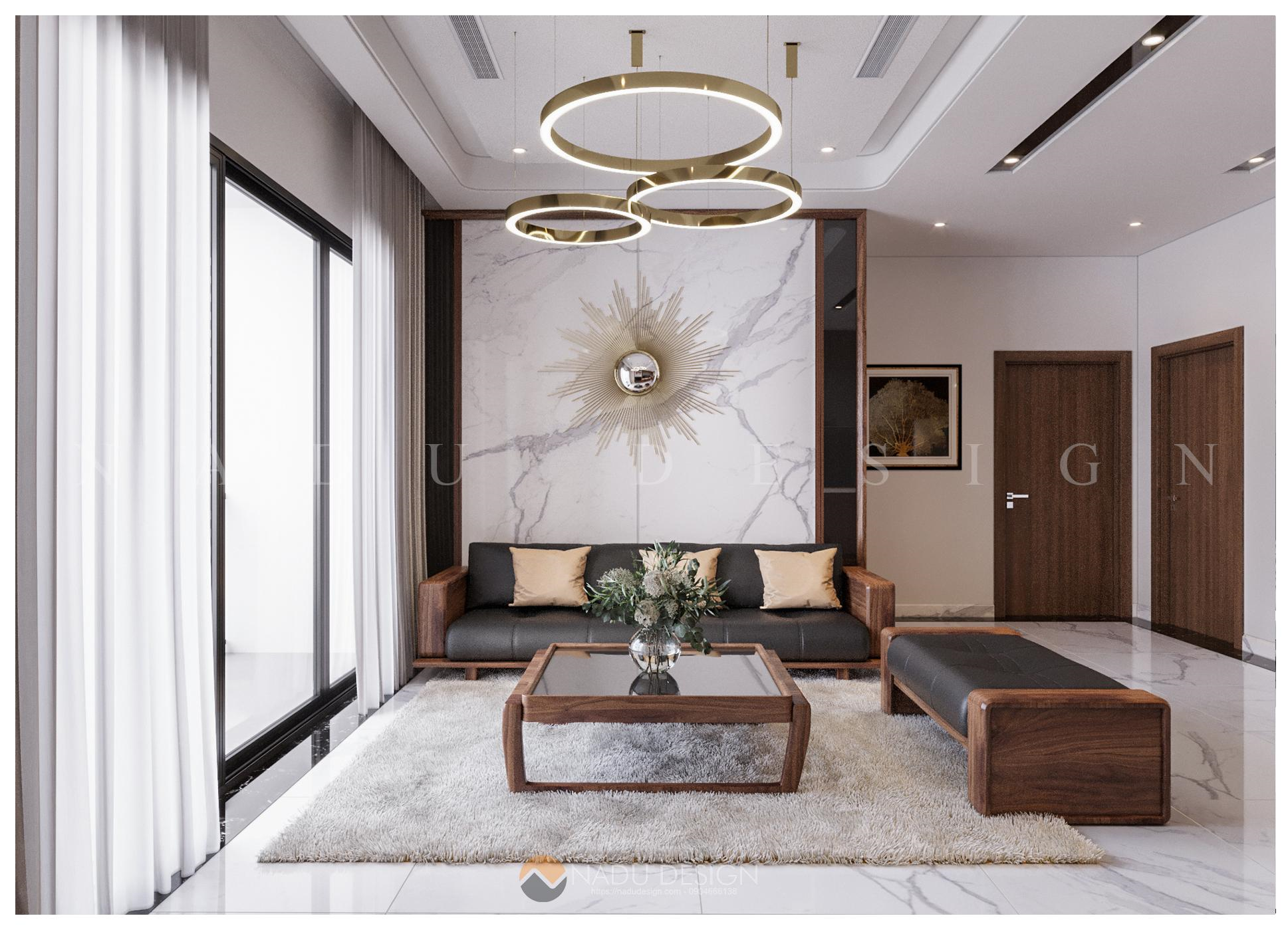 Tư vấn thiết kế nội thất chung cư chuẩn phong thủy