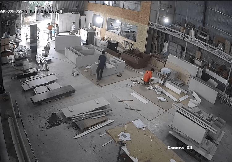 Xưởng sản xuất nội thất NaDu