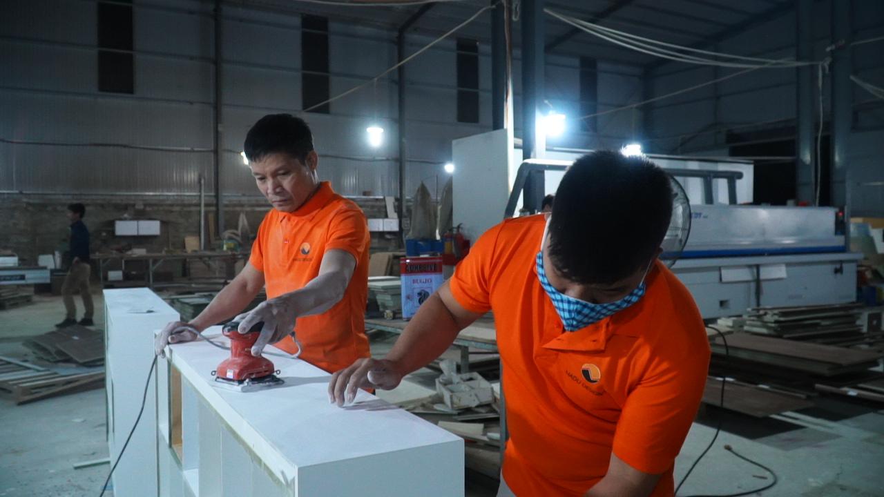 Xưởng sản xuất nội thất NaDu Design
