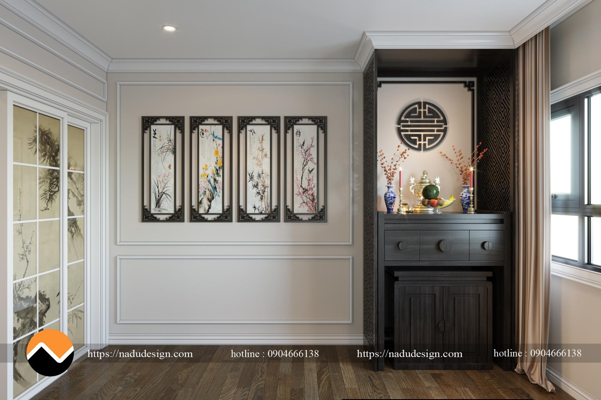 Thiết kế nội thất phòng khách chung cư
