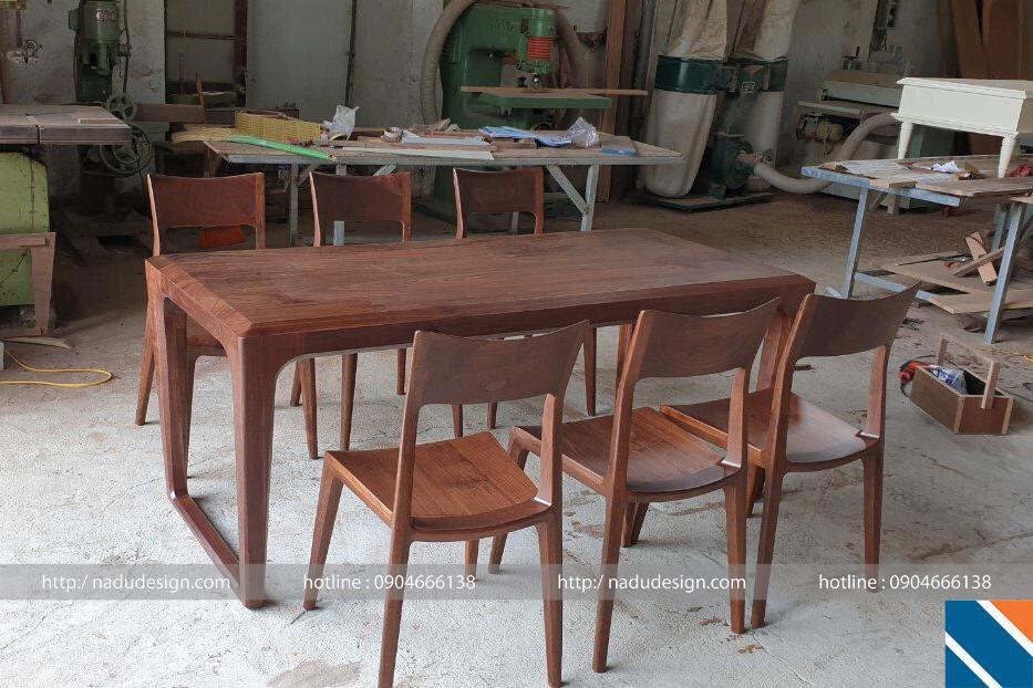 Bộ bàn ghế ăn 6 ghế đẹp và sang trọng