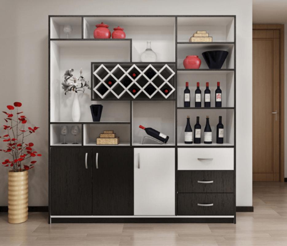 Tủ rượu phòng khách phải hợp phong thủy phòng khách và căn nhà.