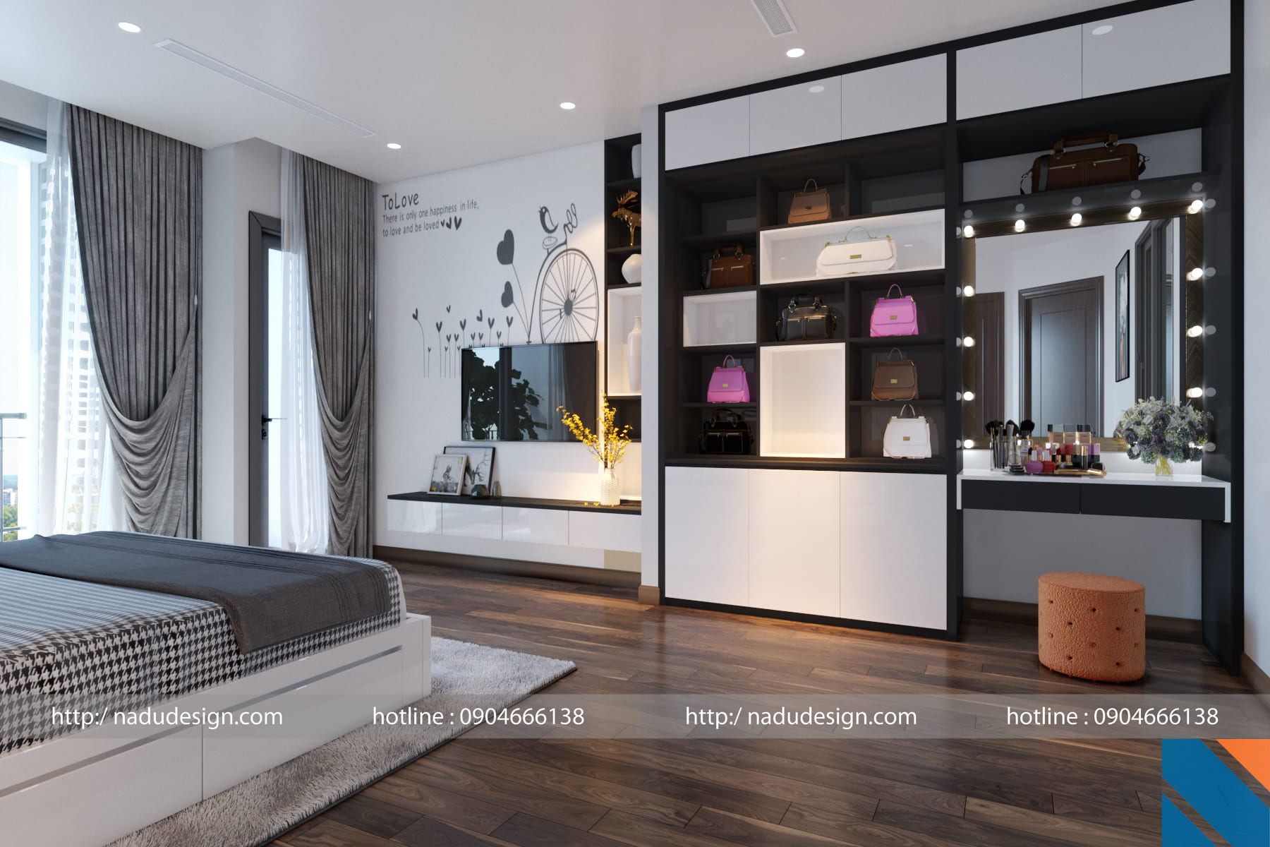 Lựa chọn thảm trải sàn cho phòng ngủ master đẹp và tinh tế