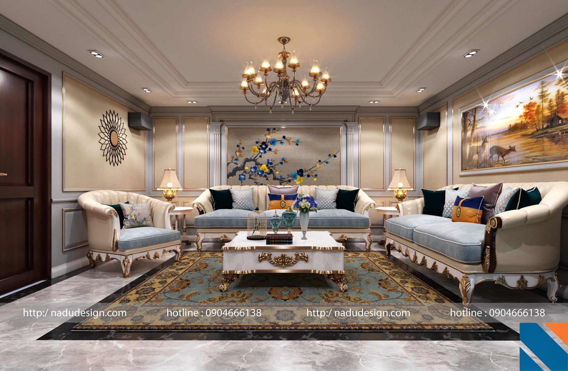 Mẫu thiết kế nội thất chung cư 3 phòng ngủ NADU Design (ảnh 5)