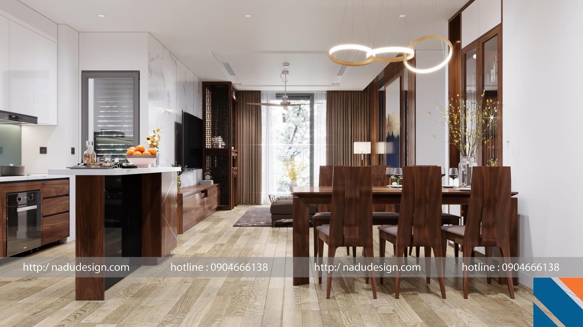 Phong thủy nhà ở- mẫu thiết kế của Nadu Design