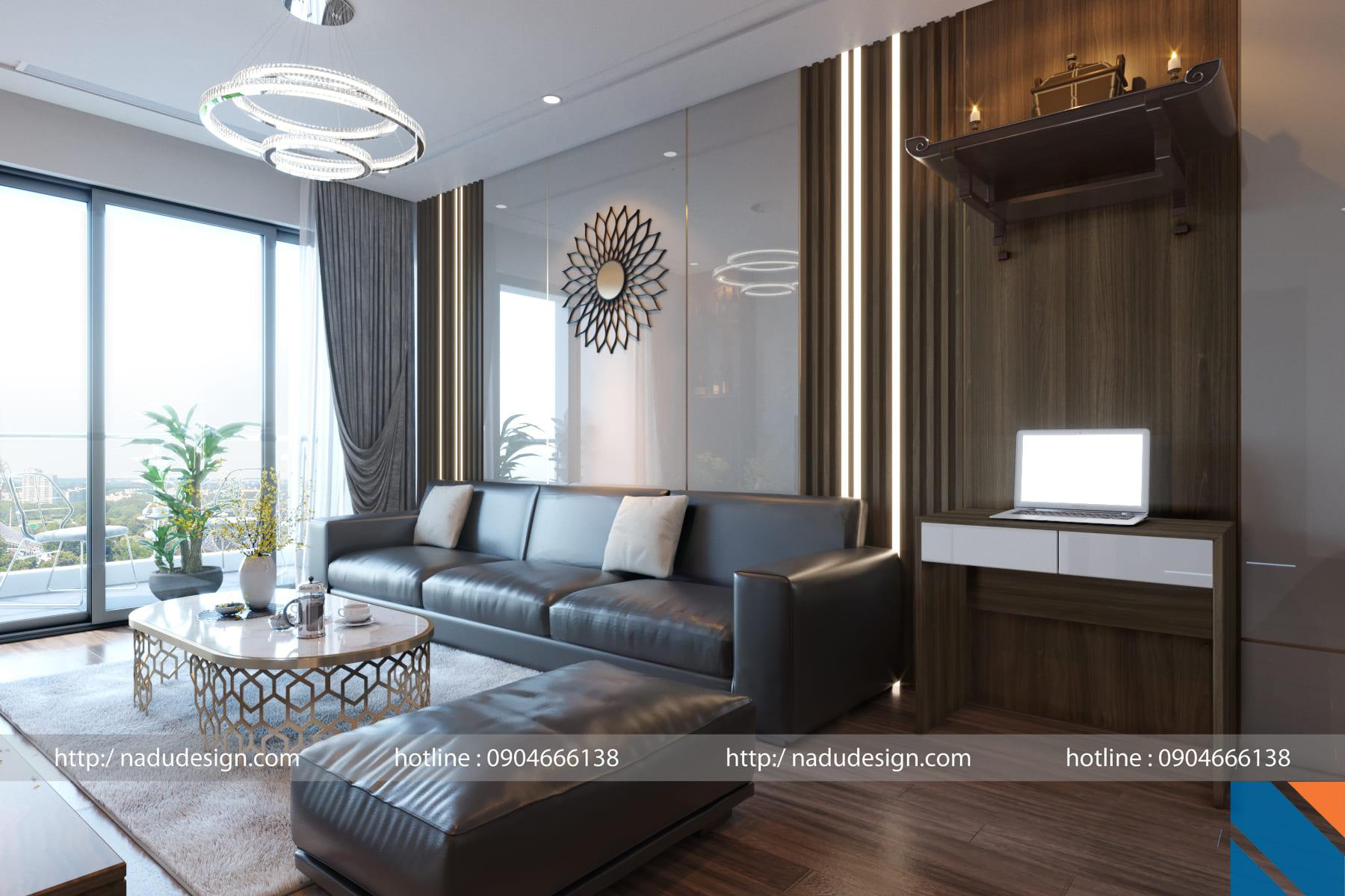 Phong thủy nhà ở - mẫu thiết kế của Nadu Design