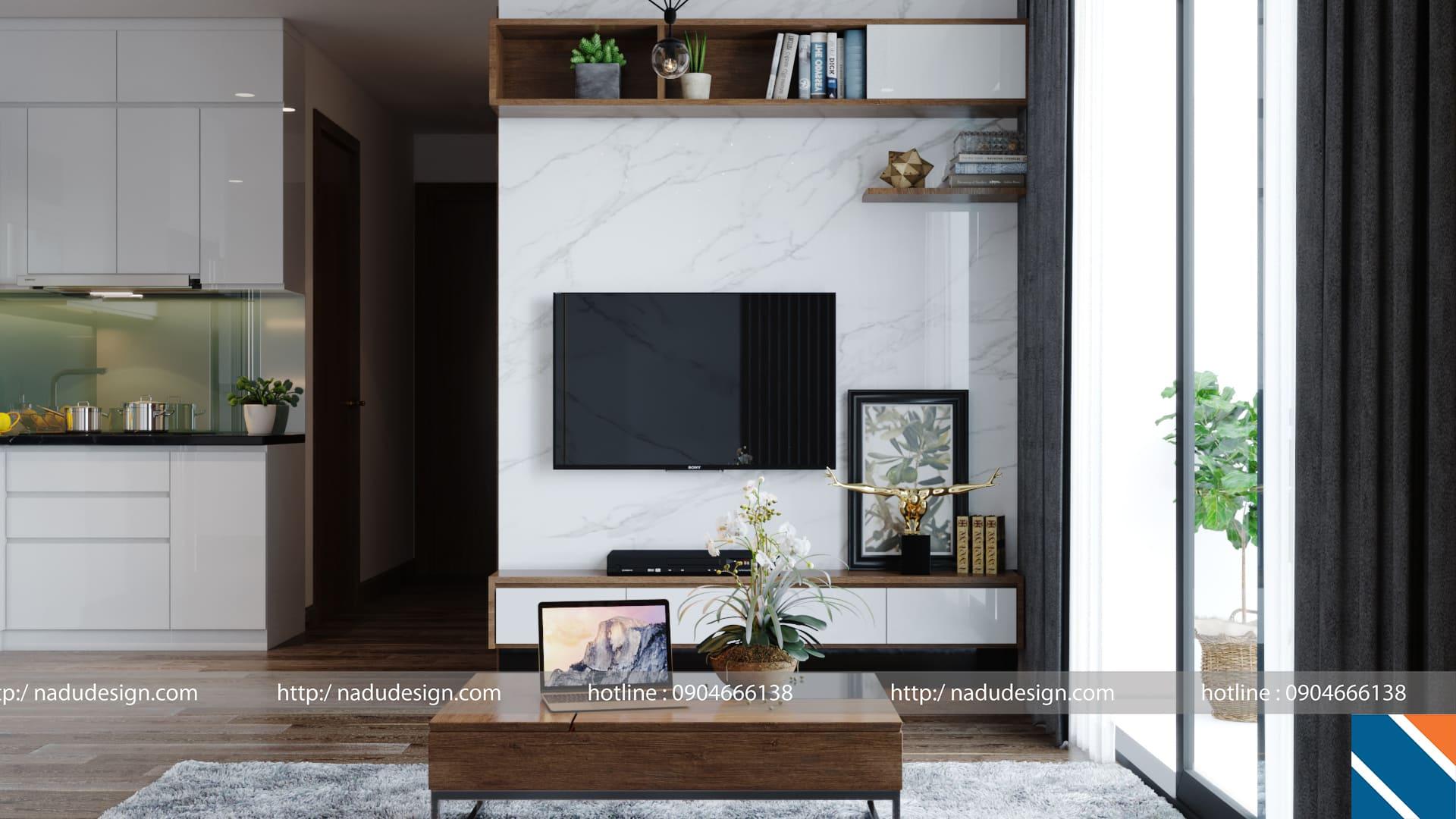 Thiết kế nội thất hợp phong thủy nhà ở của Nadu Design