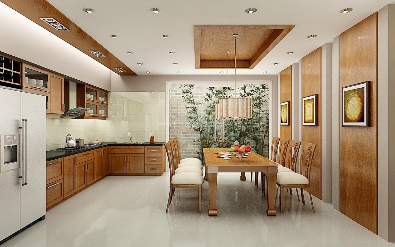 Phong thủy nhà ở áp dụng trong sắp xếp phòng bếp và phòng ăn