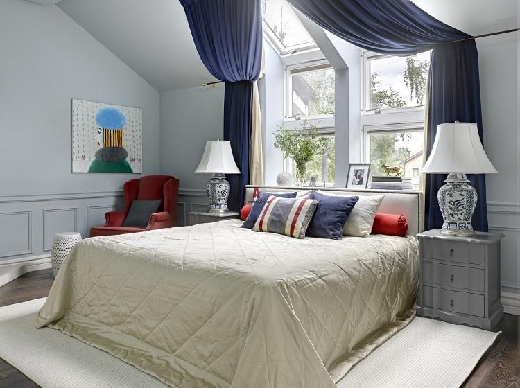 Phong thủy giường ngủ kỵ kê giường ngủ sát cửa sổ